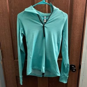 Blue under armour pullover